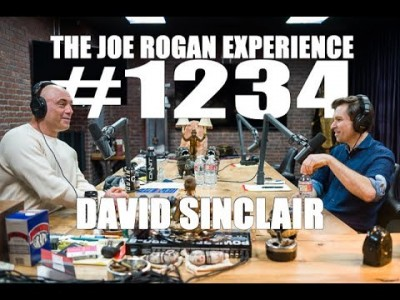 Joe Rogan cu David Sinclair